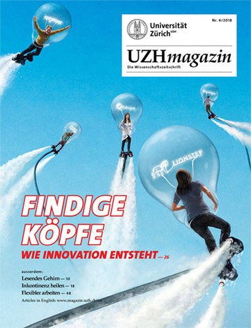 UZH Magazin 4/18 (Cover)