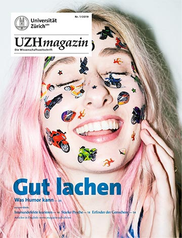 UZH Magazin 1/19 (Cover)