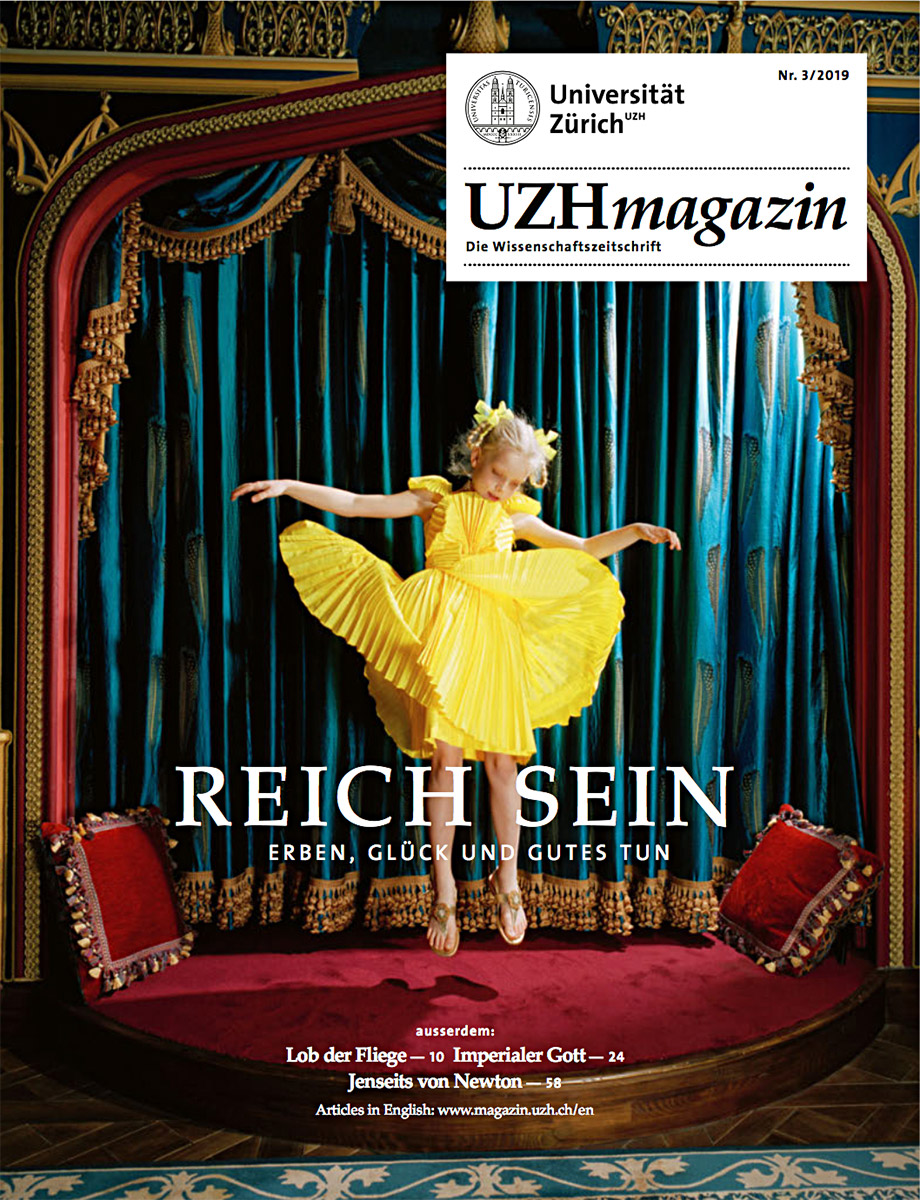 UZH Magazin 3/19 (Cover)
