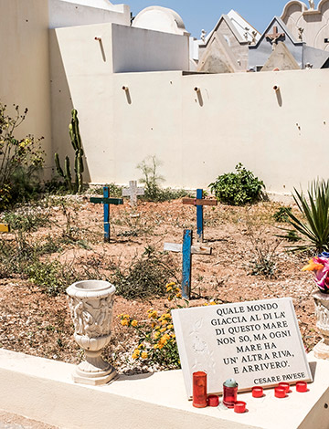 Friedhof in Lampedusa