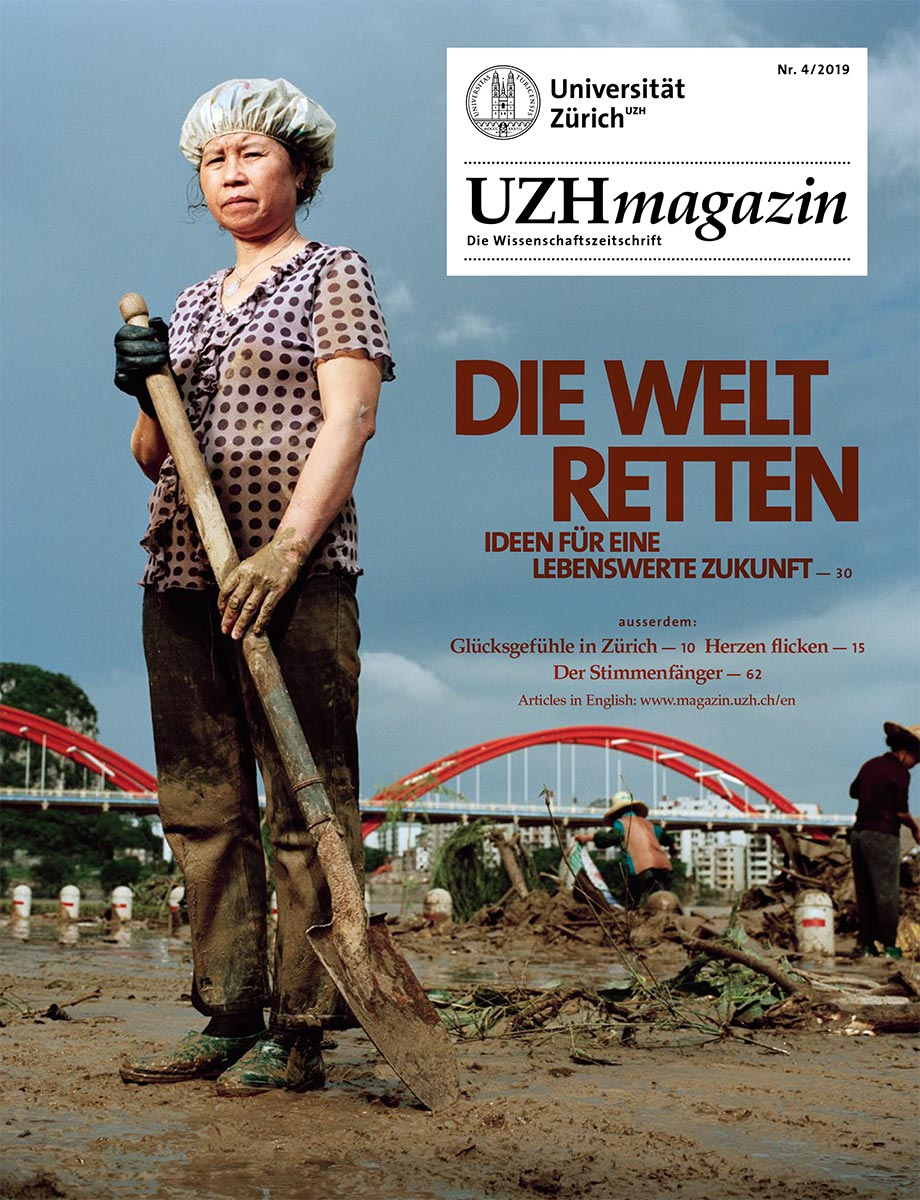 UZH Magazin 4/19 (Cover)