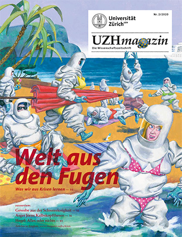 UZH Magazin 1/20 (Cover)